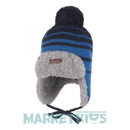 Lenne BERNE 20380 A/658 шапка зимняя для мальчика