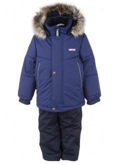 Lenne ROBBY 20724/936 комплект зимний (синий из прочной ткани)