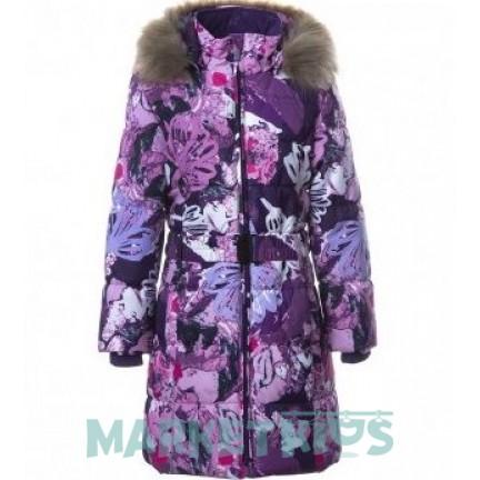 Huppa (Хуппа) YACARANDA 12030030 - 01453 пальто зимнее (фиолетовые цветы)