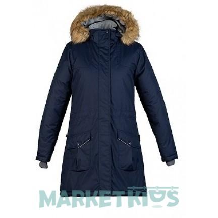 Пальто-парка Huppa Fashion MONA 12200030-70086 синее