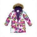 Пальто-парка Huppa Fashion MONA 12200030-81720 цветы, Фото 3