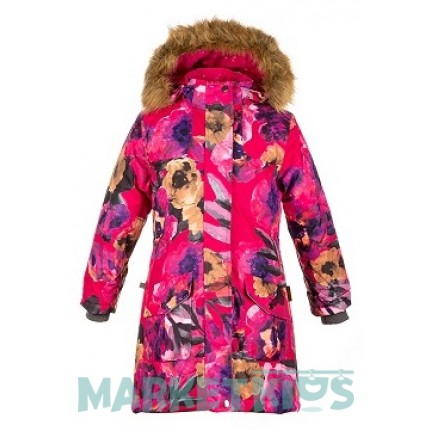 Пальто-парка Huppa Fashion MONA 12200030-81763 разноцвет