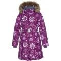 Huppa (Хуппа) YACARANDA 12030030 - 94234 пальто зимнее (бургунди снежинки), Фото 2