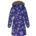 Huppa (Хуппа) YACARANDA 12030030 - 94273 пальто зимнее (фиолетовое в снежинки) , Фото 2