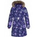 Huppa (Хуппа) YACARANDA 12030030 - 94273 пальто зимнее (фиолетовое в снежинки)