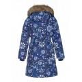 Huppa (Хуппа) YACARANDA  12030030 - 94286 пальто зимнее (синее в снежинки) , Фото 3