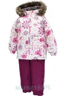 Huppa AVERY зимний комплект 41780030-94220 (белые снежинки)
