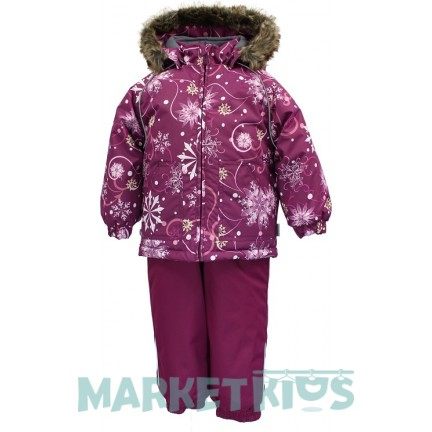 Huppa AVERY 41780030 - 94234 комплект зимний (вишневые снежинки)