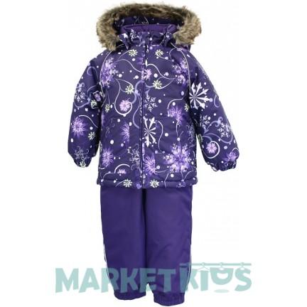 Huppa AVERY зимний комплект 41780030 - 94273 (фиолетовые снежинки)