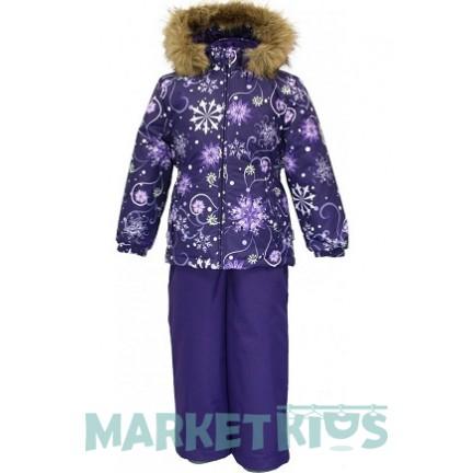 Комплект Huppa Classic WONDER 41950030 - 94273 фиолетовые снежинки
