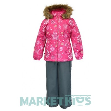 Комплект Huppa Classic WONDER 41950030 - 94263 розовые снежинки