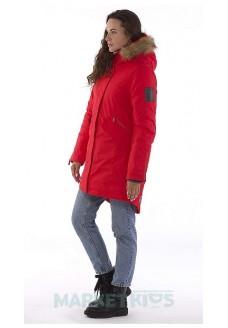 Huppa Vivian 12498020-70004 парка зимняя для подростков и женщин (красная)