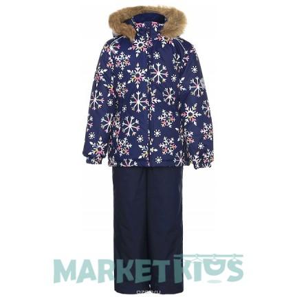 Комплект Huppa Classic WONDER 41950030-71686 синие снежинки