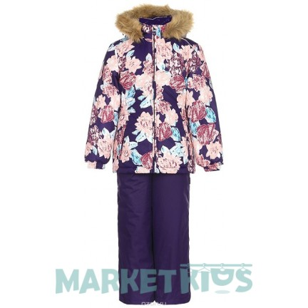 Комплект Huppa Classic WONDER 41950030-71573 фиолетовые цветы