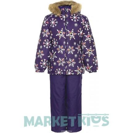 Комплект Huppa Classic WONDER 41950030-71673 фиолетовые снежинки