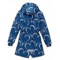 Joiks (джойкс) куртка демисезонная 150г на флисе (синяя в сердечки), Фото 3