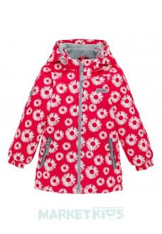 Joiks куртка для девочки осенняя утепленная 150г на флисе