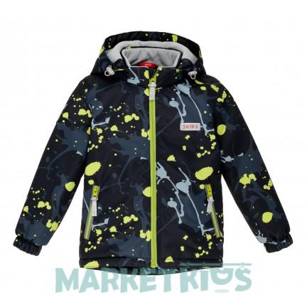 Joiks куртка для мальчика демисезонная утепленная 150г на флисе