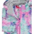 Joiks (джойкс) куртка осенняя утепленная 150г на флисе (листья), Фото 4