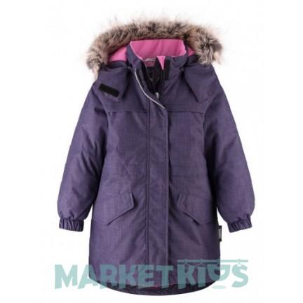 LASSIE by Reima парка удлиненная зимняя 721748-4952 (фиолетовая)