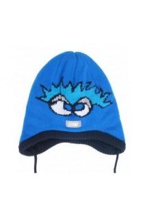 Lenne ZARENA 18246/658 шапка демисезонная для мальчика (синяя)