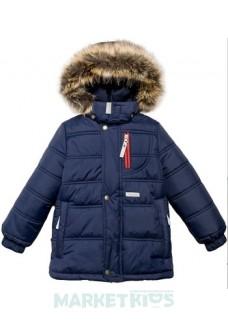 Lenne LEIF 17338/229 куртка для мальчика зима (темно синяя)