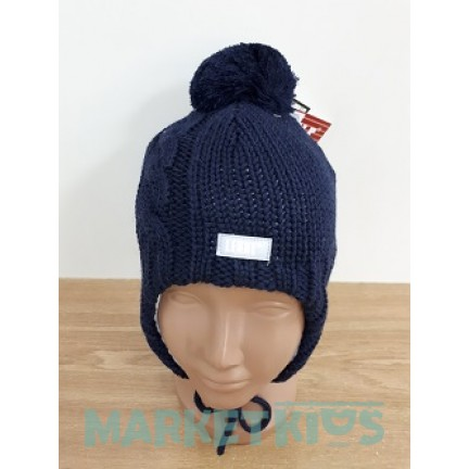 Lenne JENO 18379/229 шапка зимняя для мальчика (синяя)