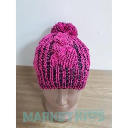 Lenne REENE 17389/265 шапка зимняя для девочки (розовая)