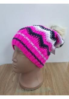 Lenne RIMY 17392/262 шапка зимняя для девочки (розовая)