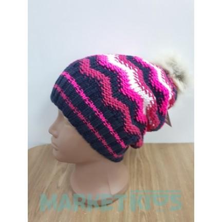 Lenne RIMY 17392/186 шапка зимняя для девочки (ягодная)