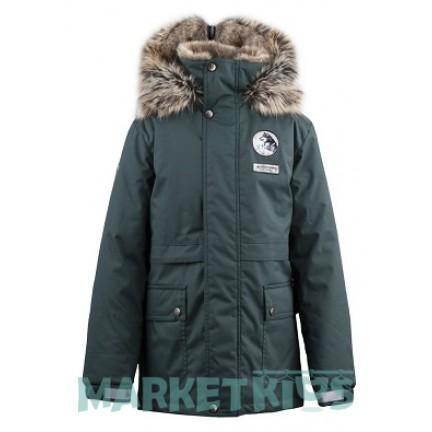 Lenne NASH 19368/332 парка для мальчика зима(темно зеленая)