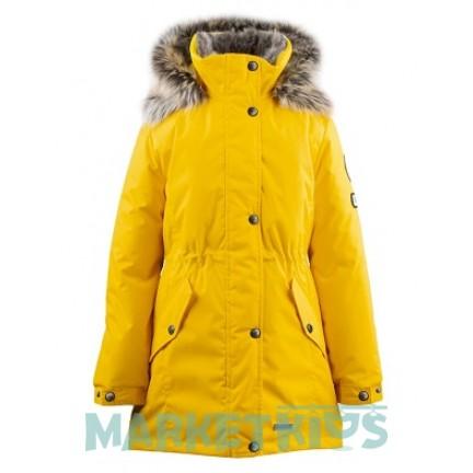 Lenne ESTELLA 19671/117 модная парка зима (желтая)