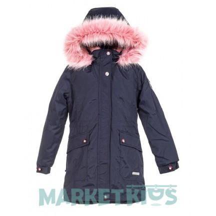 Lenne ROSA 19671A/229 модная парка-пальто зима (синяя)