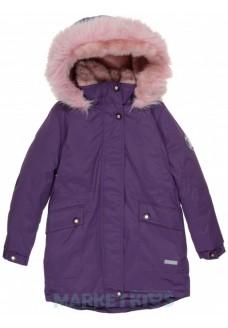 Lenne ROSA 19671A/608 модная парка-пальто зима (фиолетовая)