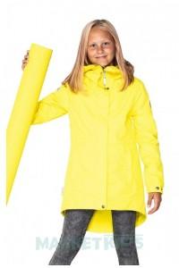 Весенняя парка Funny 20264\168 для девочек и мамочек (желтая)