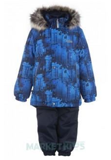 Lenne RONIN 20320b/6790 зимний комплект (синий майнкрафт)