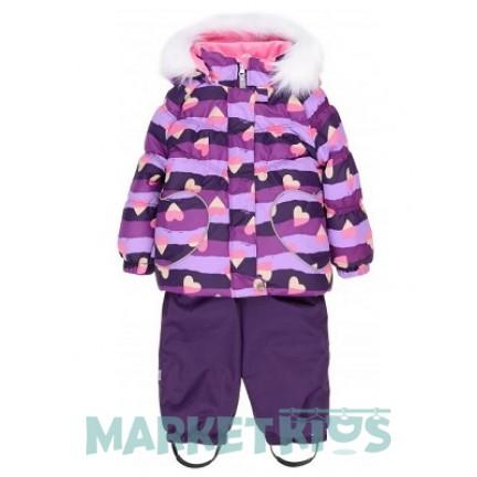 Lenne ELSA 18318A/1630 комплект зима (фиолетовые сердечки)