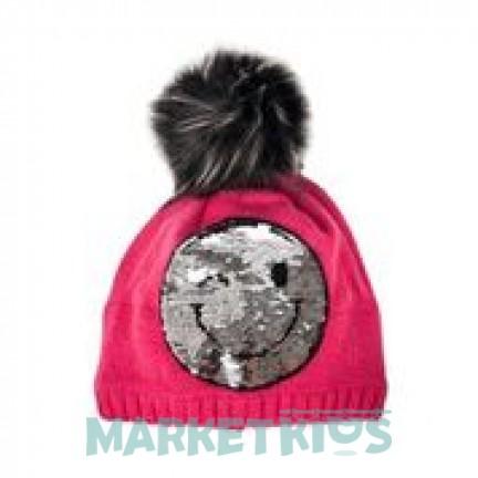 Lenne MIA 18393A/261 шапка зимняя для девочки (розовая)