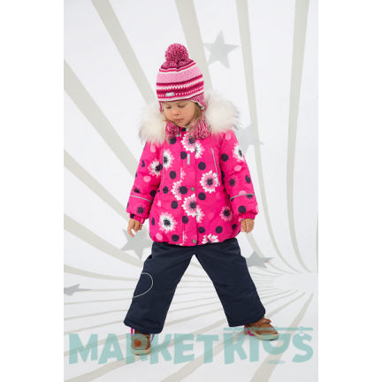 Куртка Lenne EMILY 18331/2600 зима (цветочный принт)