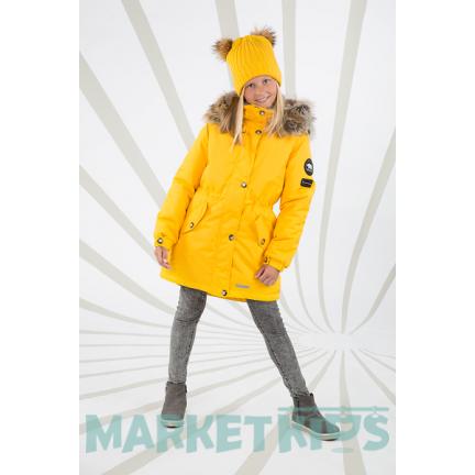 Lenne ESTELLA 18671/109 модная парка-пальто зима (желтая)