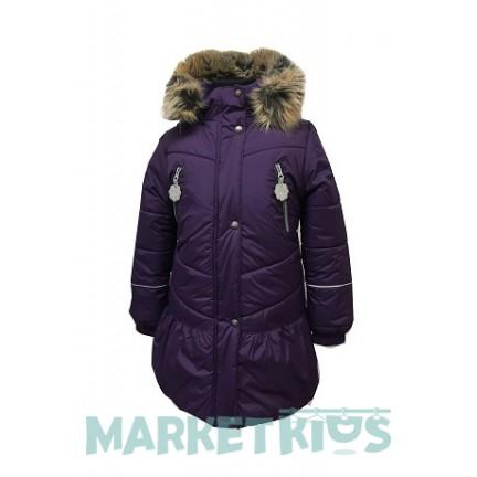 Пальто зимнее Lenne MIIA 18328/612 (сливовое)