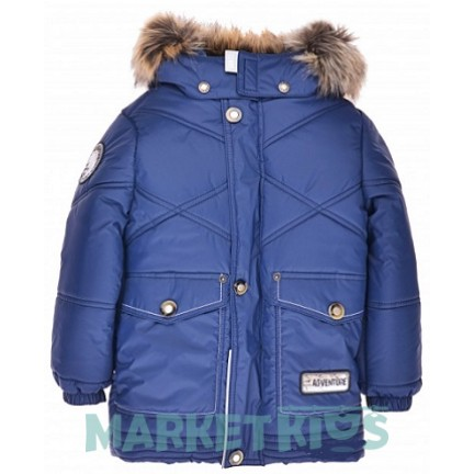 Куртка Lenne NOEL 18342/229 зима 2019 (темно синяя) удлиненная