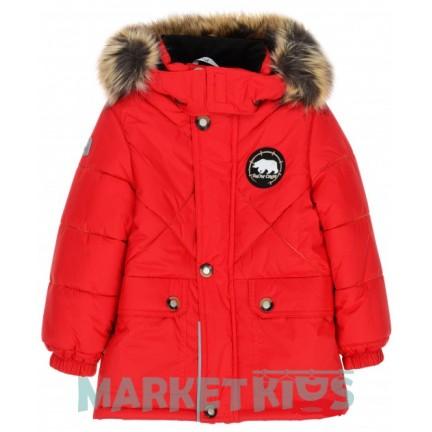 Куртка Lenne NOEL 18342/622 зима (красная) удлиненная