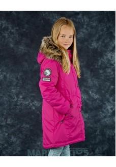 Lenne ESTELLA 18671/261 модная парка-пальто зима (фуксия)