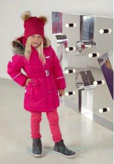 Пальто зимнее Lenne SHERYL 18335/261 (фуксия)