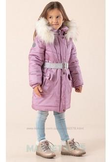Пальто Lenne MARIA 20328\122 зимнее (лиловое)