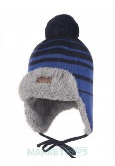 Lenne BERNE 20380 A/229 шапка зимняя для мальчика