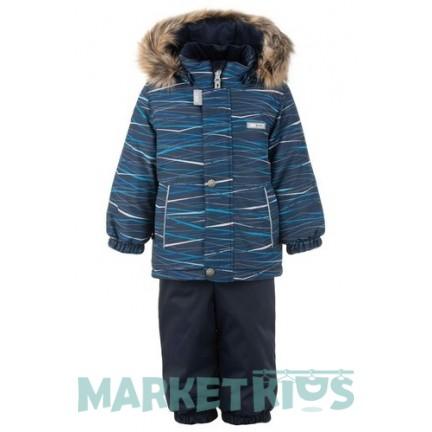 Lenne ROBIN 20314/2290 комплект зимний (синие полоски)