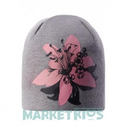 Lassie 728763-9321 шапка зимняя для девочки (цветок коралл)