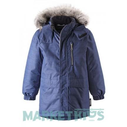 LASSIE by Reima куртка-парка зимняя 721735-6952 (синяя)